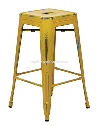 bar stools yellow metal counter stools height bar clearance