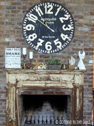 start your engines mantelpiece clocks and fireplace mantles