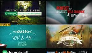 videohive 101 clean titles pack free after effects template