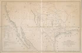 Map Of Mexico 1821 A Continent Divided The U S Mexico War