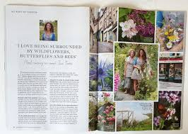 published magazine features