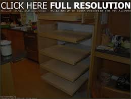 Sliding Racks For Kitchen Cabinets Kitchen Cabinet Shelving Cabinet Ideas To Build