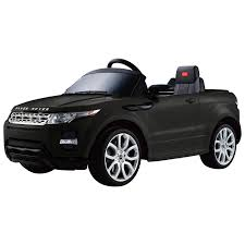 black chrome range rover best ride on cars range rover evoque black power wheels