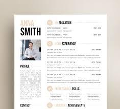 Free Download Resume Design Templates The Best Cv Resume Templates 50 Examples Design Shack