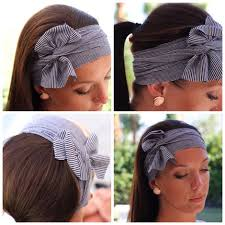 knotted headband 7 upcycled headbands that are easy to make