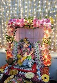 Indian Engagement Decoration Ideas Home Beautiful Utopian Events Ganesh Table For Your Welcome Area