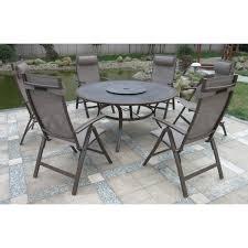 6 Seater Patio Furniture Set - textilene furniture sets u2013 the uk u0027s no 1 garden furniture store