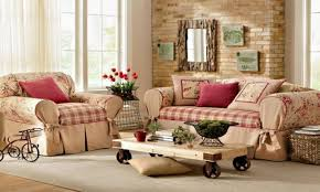 Shabby Chic Chaise by Shabby Chic Chaise Sofa Striking Living Room Furniture With