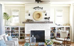 Arm Chair White Design Ideas Wonderful Design Ideas Living Room White Brick Fireplace White