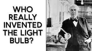 who made the light bulb who really invented the light bulb science focus