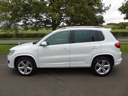 volkswagen tiguan white interior volkswagen tiguan r line tdi bluemotion technology 4motion