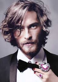 flesh color hair trend 2015 mens long wavy hairstyle 2015 hair and beard styles pinterest