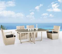 White Modern Outdoor Furniture by Interesting Modern Patio Furniture Dining Set Design Ideas With