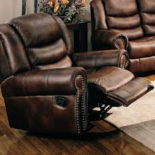 aiden traditional rocker recliner with nailhead trim lowest price
