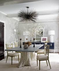 Oly Pipa Bowl Chandelier by In Ashley Stark Kenner U0027s Dining Room Designed By James Aman And