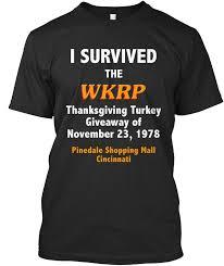 wkrp turkey drop survivor i survived the thanksgiving premium