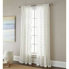 Embroidered Curtain Panels Buy Embroidered Curtain Sheers From Bed Bath U0026 Beyond