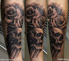 3d skull tattoos 3d tattoos design
