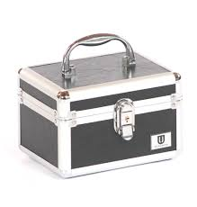 Make Up Vanity Case Small Vanity Case Box By Urbanity Makeup Jewelery Trinket Cosmetic