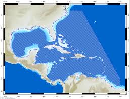 Gulf Of Mexico On Map by Gulf Of Mexico And Caribbean Sea U2014 Ctoh