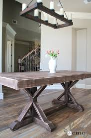 how to build a dining room table with leaves restoration hardware inspired dining table for 110 shanty 2 chic