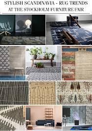 stockholm furniture fair scandinavian design 02212016 stylish scandinavia rug trends at the stockholm furniture