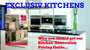 exclusiv kitchens brisbane kitchen renovation pricing guide youtube