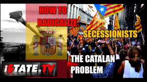 catalonia pro independence activists clash with spain over catalan