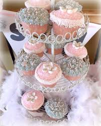 pink and grey baby shower decorating and design with beautifulyounghome
