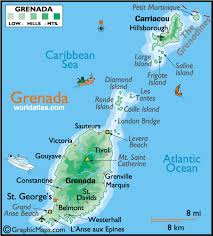 grenada location on world map carriacou grenada cruise port of call