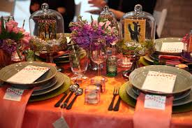 mexican inspired tabletop decor at a chicago launch for