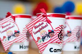 favor cups favor cups einsteins birthday party popsugar photo 13