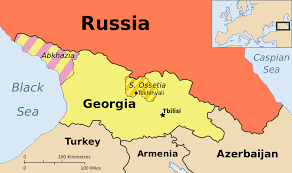 Map Russia Abkhazia Georgia Caucasia Map A Primer Georgia South Ossetia
