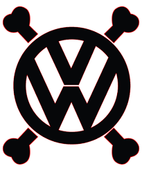 volkswagen logo vector vw cross bones by gaberios on deviantart