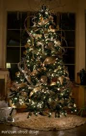 top 15 rustic christmas tree designs u2013 cheap u0026 easy party interior