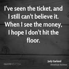 Hit The Floor Quotes - judy garland quotes quotehd