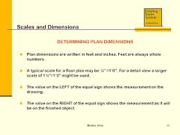 floor plan scales module three scales and dimensions ppt video online download