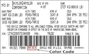 body u0026 frame body paint codes u0026 color names mightyram50 net