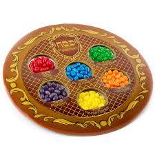 passover seder for children jelly beans kids passover seder cardboard plate passover novelty