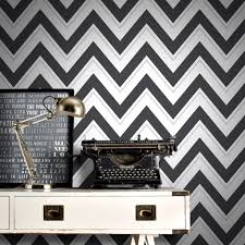 Black Damask Wallpaper Home Decor Baby Nursery Captivating Rasch Chevron Pale Teal And Black White
