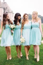 perfectly pretty farm wedding mint bridesmaid dresses wedding