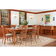 Shaker Dining Room Chairs Classic Shaker Dining Table Vermont Woods Studios