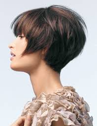 graduated hairstyles short haircut with the back graduated with a steep incline