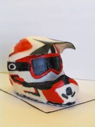 motocross bike helmets dirt bike helmet cake sweet bee u0027z pinterest dirt bike