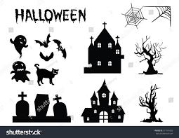 Halloween Vector Images Halloween Vector Silhouettes Icon Stock Vector 311974205