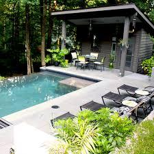 intimate contemporary plunge pool boyce design u0026 contracting