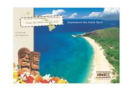 hawaii brochure template hawaii travel print template pack from