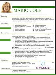 Example Of The Best Resume by Best Resume Templates Berathen Com