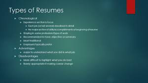 3 Types Of Resumes Resume Writing Key To Landing Your Dream Job What Is A Resume