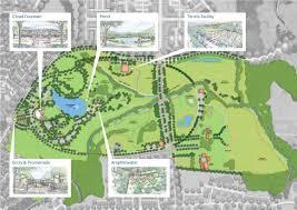 Map Central Park Central Park Upper Marlboro Md Parkside At Westphalia